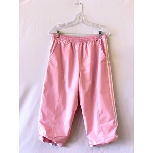 Pants - Light pink cropped athletic pants